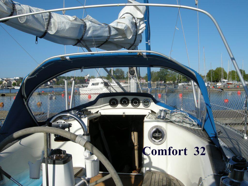 Sprayhood Comfort 32 CB Marine