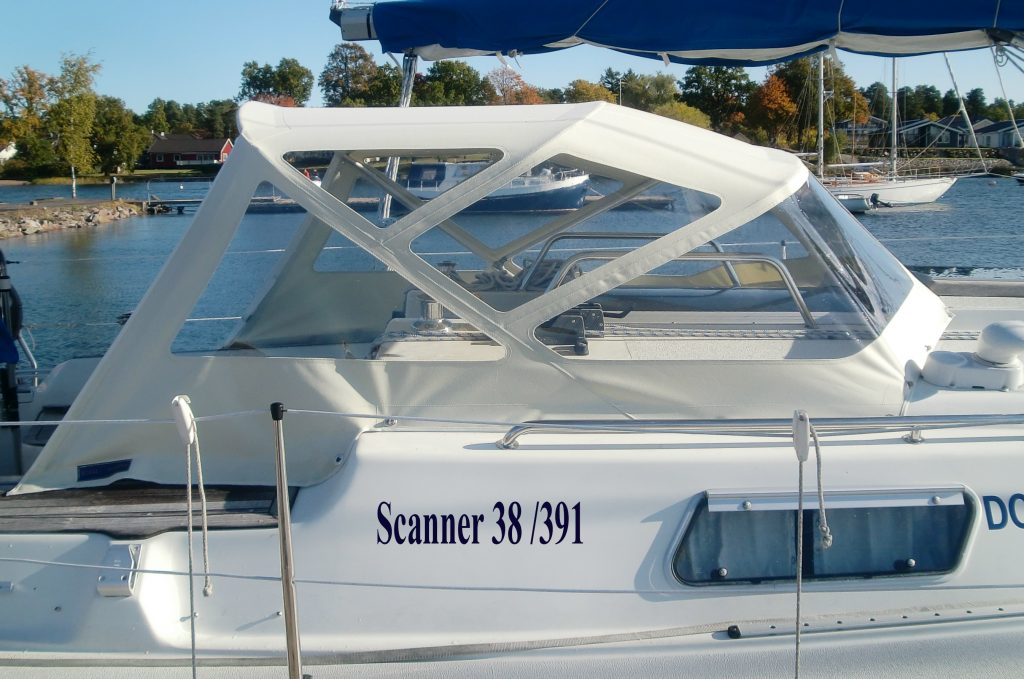 Scanner 391 Sprayhood CB Marine