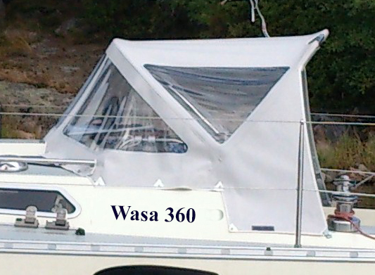 Wasa 360 sprayhood CB Marine
